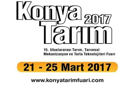 TÜRKİYE NİN EN BÜYÜK TARIM FUARI KONYA TARIM 21 - 25 MART 2017